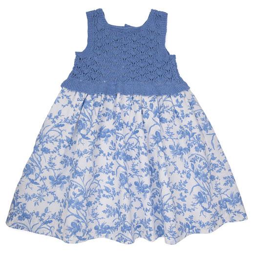 Paz Rodriguez Mamuky-Vestido-azul