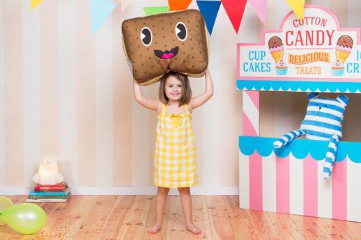 decoracion infantil puf sandwich