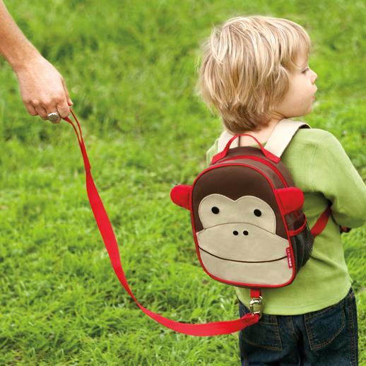 Mochilas vuelta al Zoo packs con arnes de seguridad