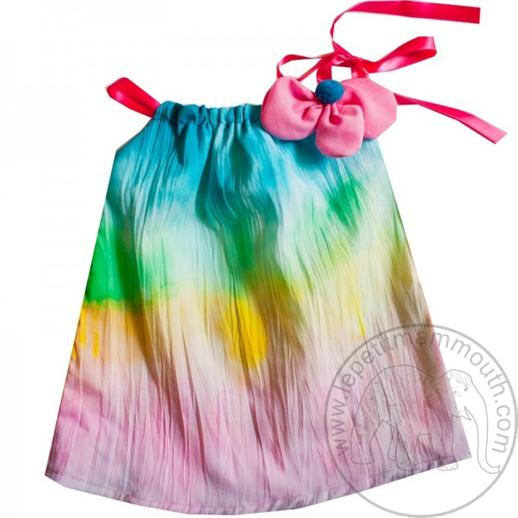 Moda infantil Le Petit Mammouth vestido-bebes-colores-vestido-bebe