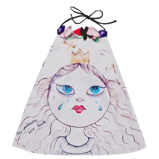 Moda infantil Le Petit Mammouth vestido princesa
