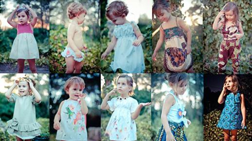 Moda infantil Le Petit Mammouth vestidos-bebes
