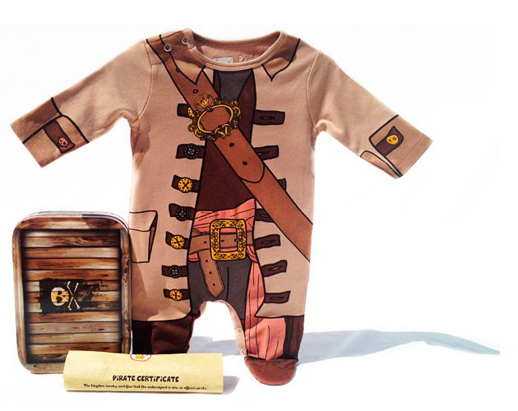 Pijama Pirata para bebes The King of the house_Blogmodabebe3
