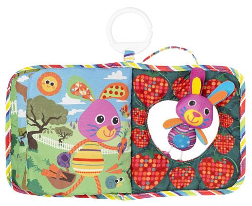 Libros para bebés de Lamaze-Bunny-Hid