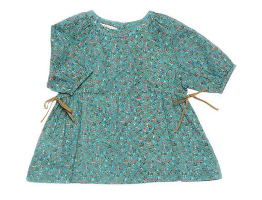 Moda infantil Caramel Baby & Child-vestido-liberty-pulmia-azul-Blogmodabebe