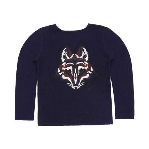 Moda infantil Zadig & Voltaire pullover-bordado-lobo-celso_Blogmodabebe