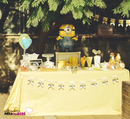 Cumpleaños infantil Minions_Blogmodabebe