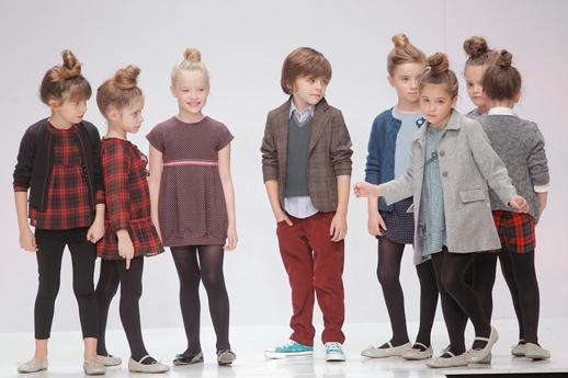 Moda infantil Nieves Alvarez N+V VIllalobos otoño invierno 2014-2