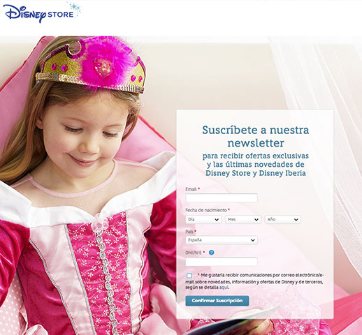 Newsletter-DISNEY-STORE