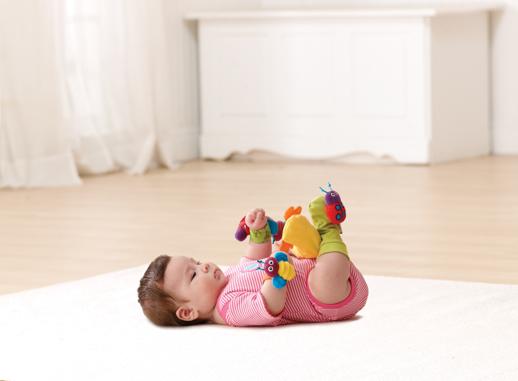 Sonajeros para las muñecas y pies del bebé de Lamaze