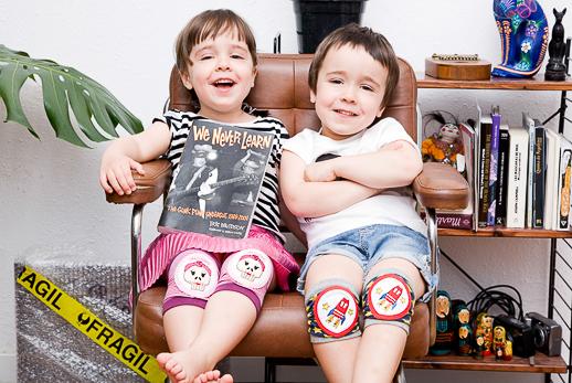 Crazy Zebra, rodilleras y parches originales para niños_Blogmodabebe