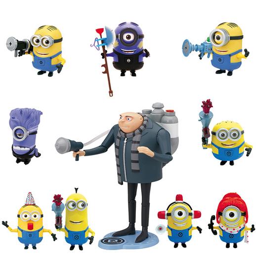 Figura parlanchina Minion Gru- Mi villano favorito