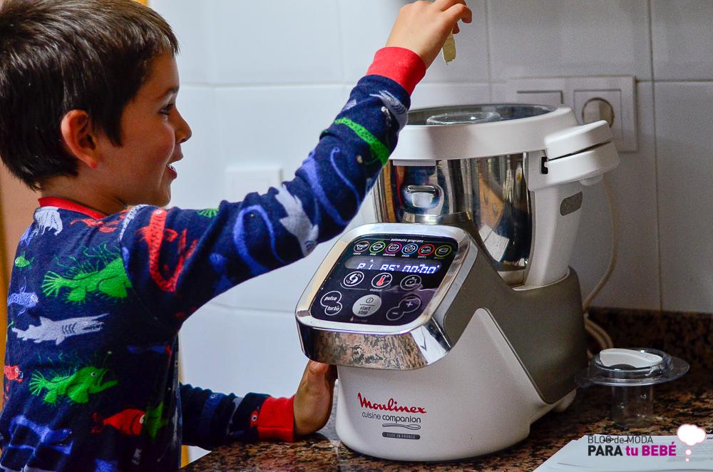 Cuisine companion de moulinex mi regalo inesperado para for Robot de cocina la razon