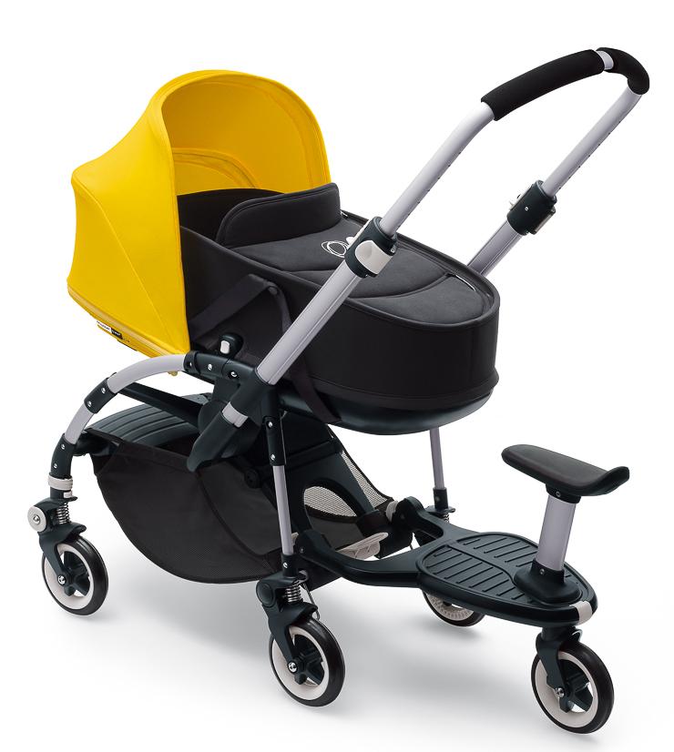 Nuevo patinete para cochecitos bugaboo con silla patinete for Coches con silla para bebe