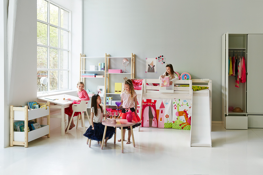 Habitaciones flexa de beb a ni a blog de moda infantil - Muebles para cuarto de nina ...