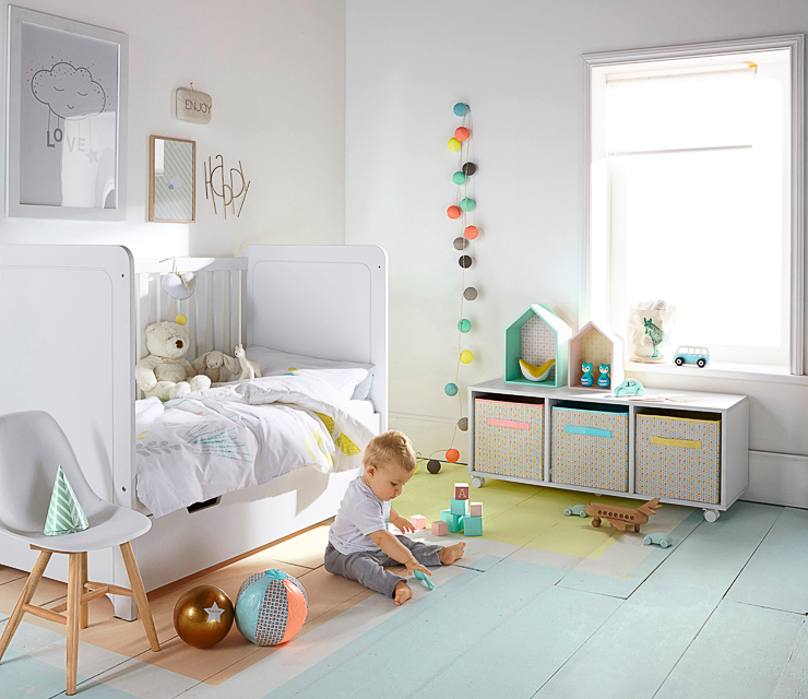 Decoracion infantil affordable para decorar una habitacin for Decoracion nordica infantil