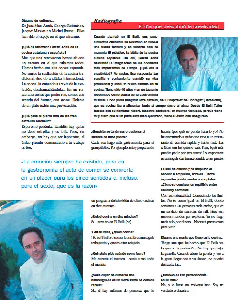 Entrevista Ferran Adria-Maria Jose Cayuela-5