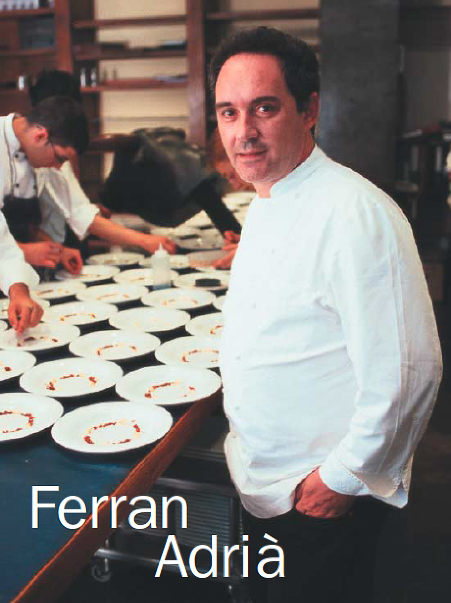 Entrevista Ferran Adria-Maria Jose Cayuela