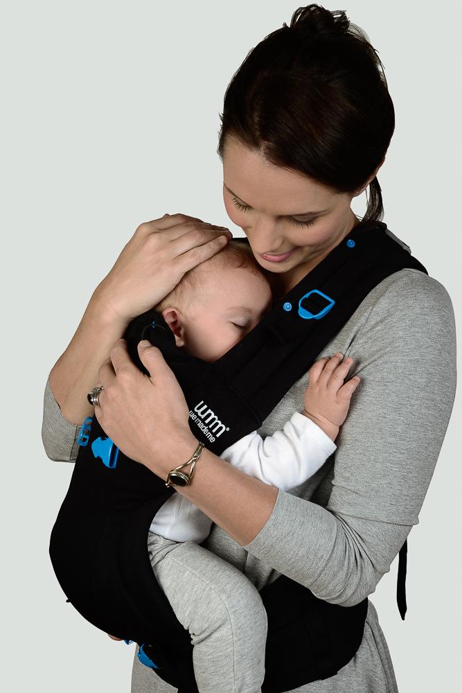 Porta bebés ergonómico avanzado, súper‐ajustable y de estru
