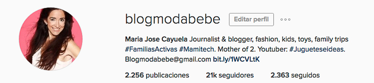 Instagram Blogmodabebe