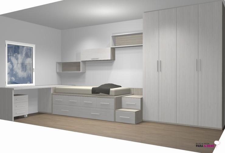 Muebles de habitacion infantil habitacin infantil blanca for Muebles de habitacion infantil