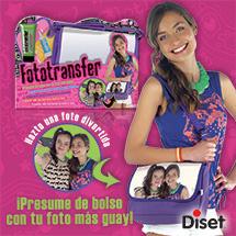 FotoTransfer Diset, personaliza bolsos con tus fotos