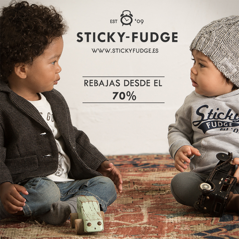 moda infantil Sticky Fudge