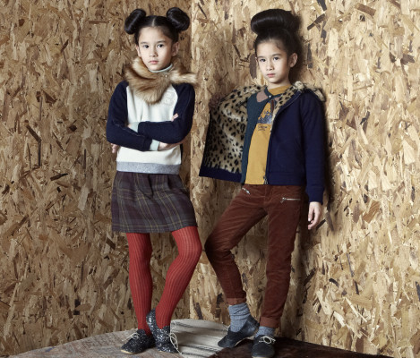 Moda infantil-Bellerose-Girl-LookbookAW13-Blogmodabebe