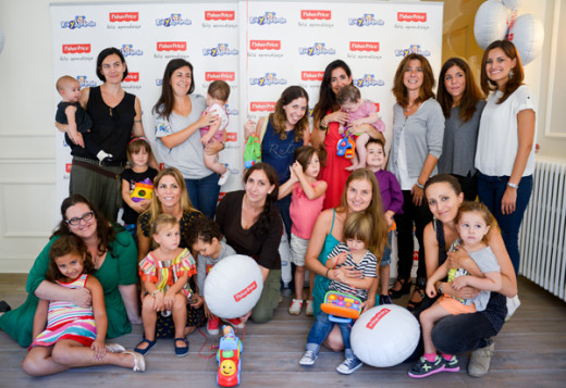 Evento madres blogueras Reír y Aprender de Fisher Price 4
