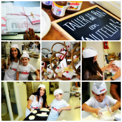 Taller de pan con Nutella by Blogmodabebe