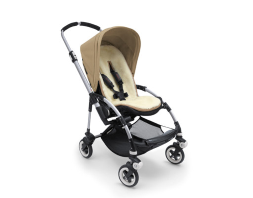 Bugaboo Wool Collection colchoneta integral de lana Bugaboo Bee marfil