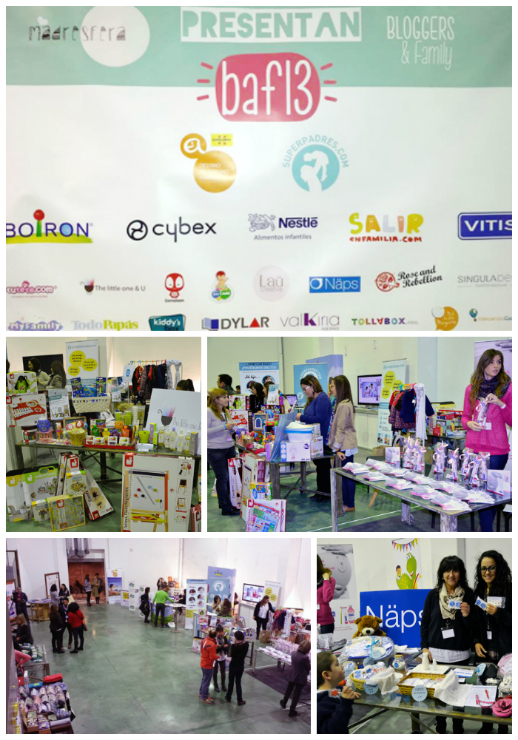 Collage stands marcas Bloggers & Family 2013-2