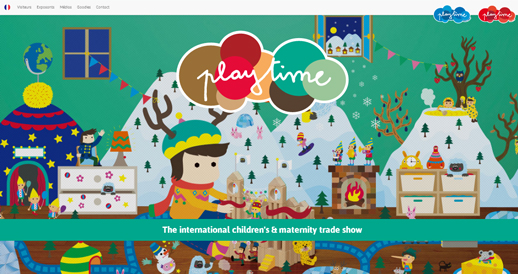 Playtime Paris-the international children's and maternity professional trade show