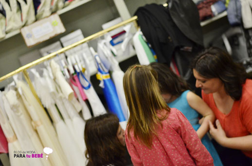 Moda infantil Petit Style Walking Little Star en el Backstage