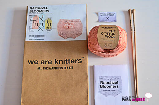 kits de tejer para bebés we are knitters_Blogmodabebe