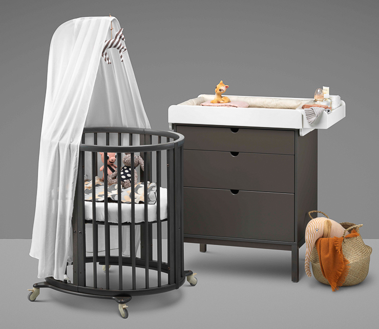 Sleepi nursery bed Hazy Grey product